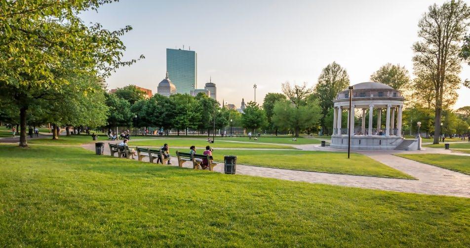 Boston Common Park
