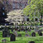 Graves in Boston Common Park