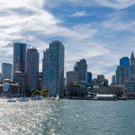 photo shows the Boston city skyline