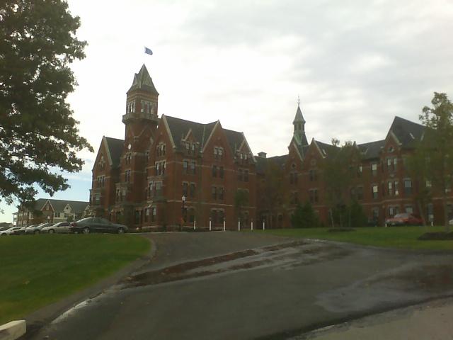 photo shows Danvers hospital